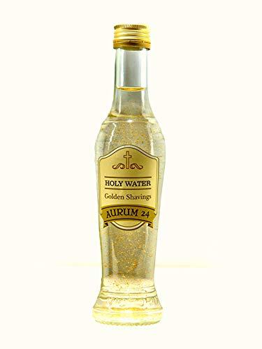 Desconocido Baño esotérico atrae Dinero,ritualizado,Agua bendita con Polvo de Oro de 24K,Botella 200 ml.