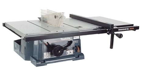 Rousseau 2600 PortaMax Jr. Table Saw Table Top and...