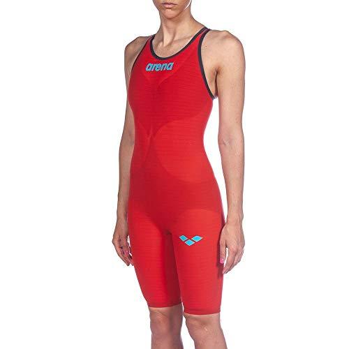 Arena - Costume da bagno 1P Pwsk Carbon Air 2 da donna, Rosso, 34