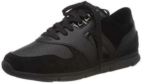 Tommy Hilfiger Damen Velvet LACE Light Weight Sneaker, Schwarz (Black 990), 37 EU