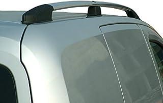 Compatible con Fiat Qubo 2017 Barras portaequipajes para Techo de Coche 135 cm Barra para Coche con ra/íles no enganchados Completamente al Techo Portaequipajes de Aluminio homologadas con Cerradura