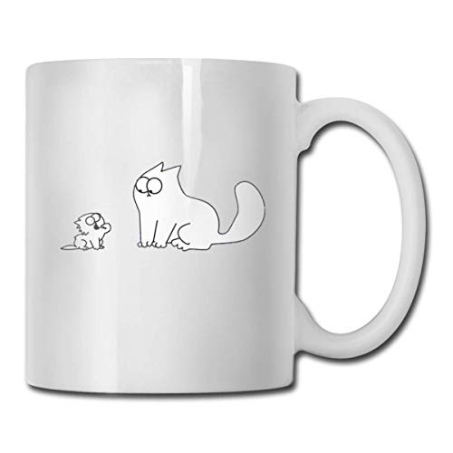 Kaffeebecher Best Gift Ceramic Coffee Mugs Logo of Simon S Cat and The Kitten Unique Great Novelty Gift