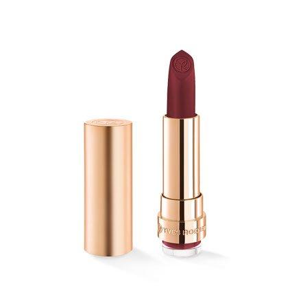 Yves Rocher COULEURS NATURE GRAND ROUGE Lippenstift Matt 157 Cassis Audacieux, matter Lippenstift langanhaltend in Rot, 1 x Stift 3,7 g
