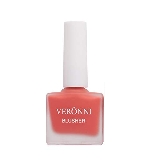 VERONNI Fruit Juice Liquid Blusher for Cheeks ,Vegan Face Cream Blush Glow Makeup,Waterproof Long Lasting Blushes,Cruelty-Free for a Shimmery Finish (#402)