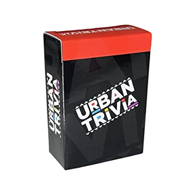 Urban Trivia Game - Black Trivia Card Game for The Culture! Fun Trivia on Black TV, Movies, Music, Sports, & Growing Up Black! Great Trivia for Adult Game Nights and Family Gatherings.
