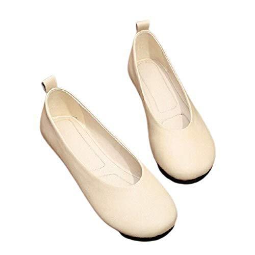 Mocasines para Mujer Ocio al Aire Libre Primavera Verano Deslizamiento en mocasín Calle Caminar Suave conducción Ballet Zapatos de Ciudad Planos Lisos