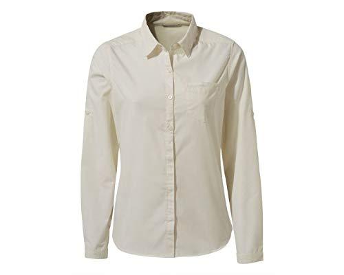 Craghoppers vrouwen Kiwi LS shirt zeezout 12
