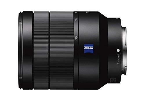 Sony SEL-2470Z Obiettivo con Zoom 24-70 mm F4.0, Serie Zeiss, Stabilizzatore Otticom, Mirrorless Full-Frame, Attacco E, SEL2470Z