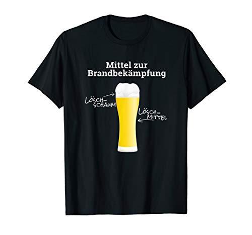 Feuerwehrfrau und Feuerwehrmann Bier Brand Feuerwehr T-Shirt