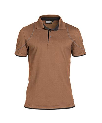 DASSY Dassy Herren 5414729101873 Polo-Shirt, Marrone/Grigio, M