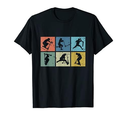 Trottinette Freestyle Stunt Scooter E-Scooter Camiseta
