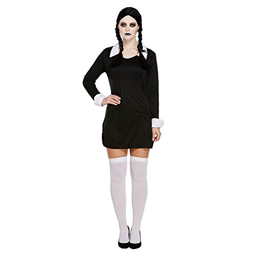 Fancydress COMME Mercredi Addams OUTFIT COSTUME DE FAMILLE [Jouet]