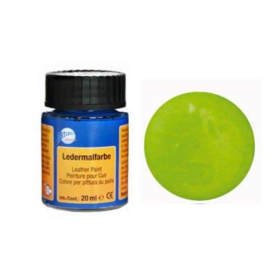 Ledermalfarbe, 20ml, frühlingsgrün