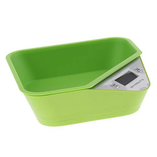 KESOTO Tierwaage für Kätzchen Welpen und Kleintiere (1g- 5kg) - Grün
