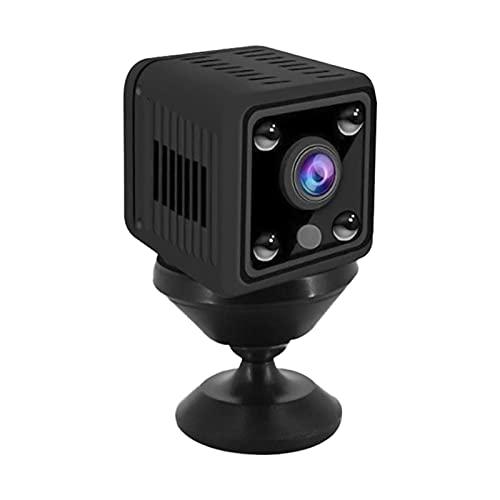 Camnoon 1080P Mini Kamera Video Cam Full HD Camcorder 155° Weitwinkel IR Nachtsicht Bewegungserkennung WiFi Funktion 128GB Speichererweiterung für Baby Pet Home Security Monitoring