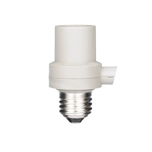 Woods 59405WD Indoor/Outdoor Light Control Socket With Photocell