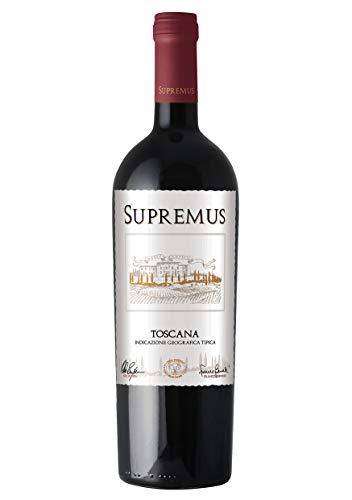 Supremus Toscana 2016 - Vino Toscano Rosso - IGT - 0.75L (1 Bottiglia)