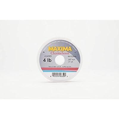 Maxima Leader Wheel (4-Pound Test ), Chameleon, 27-Yard by Maxima Fishing Line by Maxima