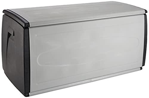 TERRY Box 120 Qblack, Baúl Multifunción Negro, Gris Oscuro, 308 Lt