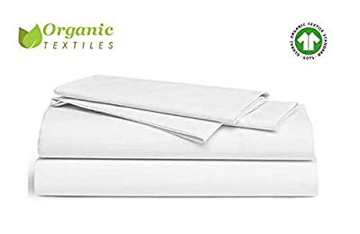 Organic Cotton Bed Sheet Set. Soft and Luxurious.