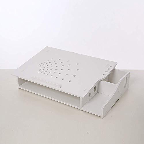 El soporte para computadora, el estante de almacenamiento de escritorio del disipador de calor del portátil protege el soporte cervical para computadora para MacBook, Apple, computadora portátil, B