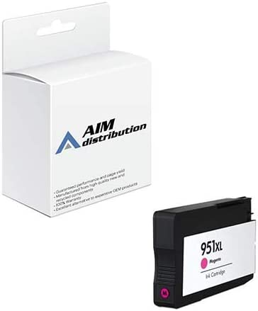 AIM Compatible Replacement for HP NO. 951XL Magenta Inkjet (1500 Page Yield) (CN047AE) - Generic