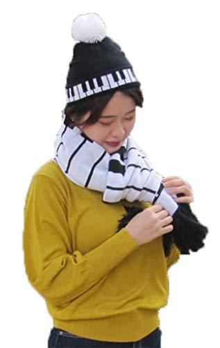 Winter gebreide lange sjaal 70 x 17