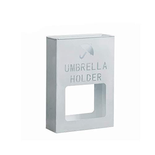 WaWeiY Stands - Cubo de almacenamiento para paraguas, simple y moderno, color blanco, 13 x 36 x 41 cm