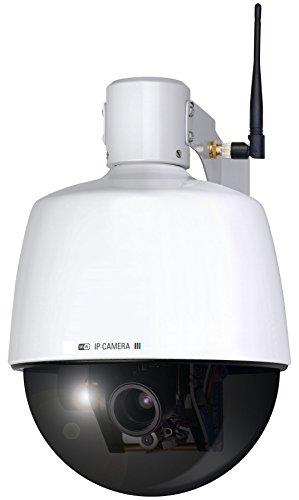 Smartwares C904IP.2 SW WIFI netwerk PTZ dome-camera met optische zoom voor buiten