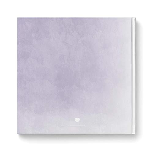 Gästebuch mit leeren Seiten | 104 Seiten, flieder