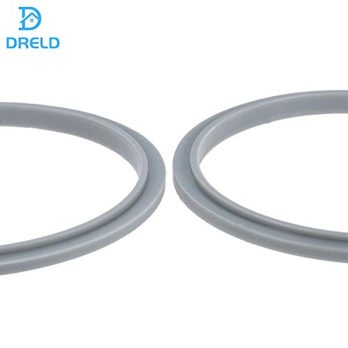 Replacement for Nutribullet Blender Seal Ring Rubber Gaskets with Lip, Compatible with Nutribullet 600/900 Series (Pack of 4)