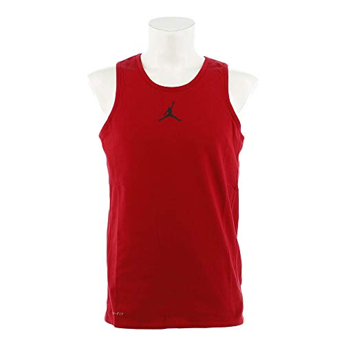 Nike Herren Jordan Flight Tanktop, Gym Red/Black, S