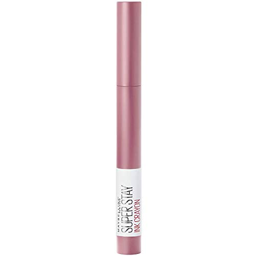 Maybelline New York Lippenstift, Super Stay Ink Crayon, Matt und langanhaltend, Nr. 30 Seek Adventure, 1,5 g