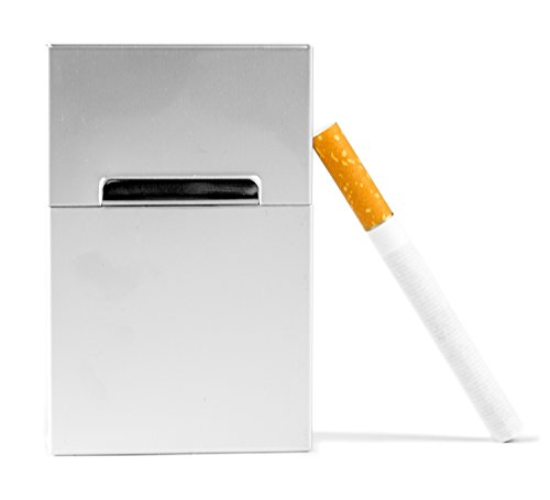 Powerfiller® Zigarettenbox farblich Sortiert mit Magnetverschluss