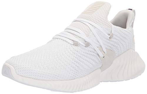 adidas Men's Alphabounce Instinct, off white/raw white/cloud white, 11 M US