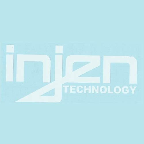 """popular click2go 2021 2 Racing 2021 Decal Sticker for Injen (New) White Size 7""""x3"""" online sale"""