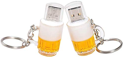 A Plus+ Bicchiere di Birra 8 GB Pendrive USB 2.0 Penne USB Chiavette