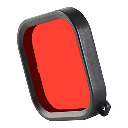 #N/A Unterwasser Tauchfilter Schnorchelfilter Schutzfilter Objektivfilter für GoPro Hero 8 - Rot