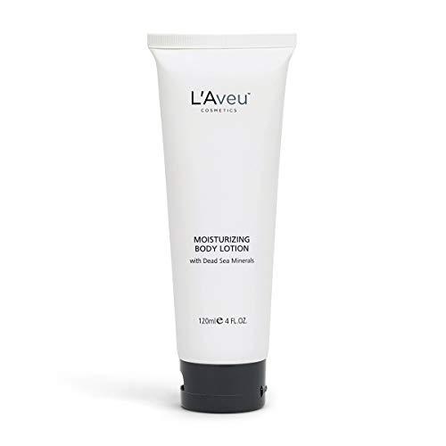 L'Aveu Moisturizing Body Lotion - Gentle Moisturizer for Dry Sensitive Skin - Natural Hydrating Formula with Dead Sea Salt, Sunflower, Avocado Oil & Aloe Vera - Non-Greasy, Light Scent - 1 Pack, 4.1oz