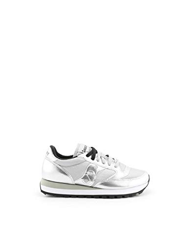 Saucony Luxury Fashion Donna 1044461 Argento Poliammide Sneakers | Stagione Permanente