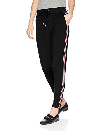 ONLY Damen Hose Onlpoptrash Easy Sport Pant Noos, Schwarz (Black), W36L32 (Herstellergröße: S)