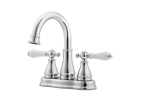 Pfister LF-WL2-45 Sonterra 1.2 GPM Centerset Bathroom Faucet - Includes Pop-Up D, Polished Chrome