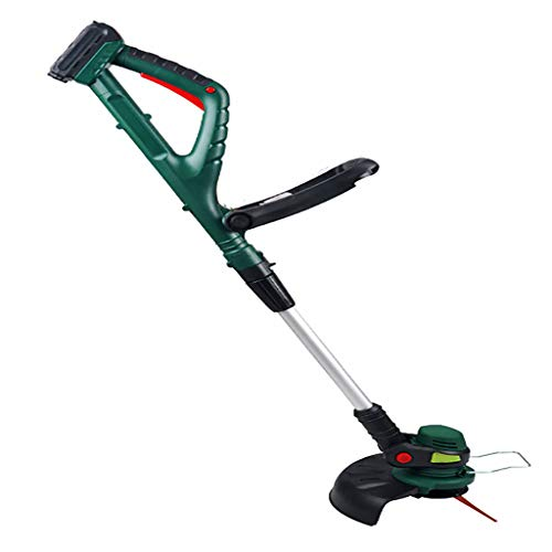Powerful Cordless Rechargeable Folding Grass Trimmer Lithium Battery Electric Grass Edge Cutter Bass Noise Reduction, Trim Multifunctional Lawn Edgers