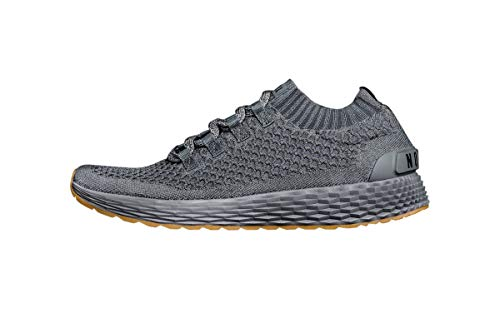 NOBULL Men's Dark Grey Knit Runner 9.5 US