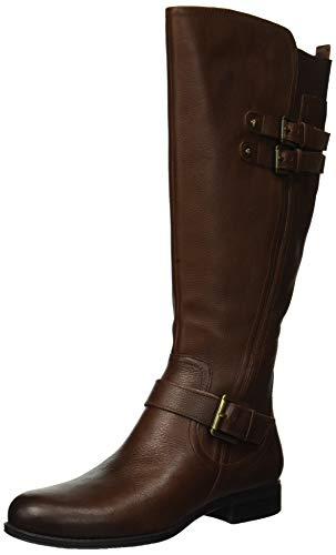Naturalizer Women's Jessie Knee High Boot, Chocolate, 7 M US