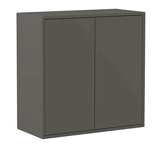mobile ingresso grigio Iconico Home QBE Cubo da parete