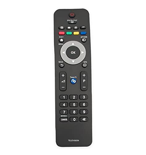 AULCMEET 242254990274 - Mando a distancia para Philips LED LCD TV 22HFL4373D/10 26HFL4373D/10 32HFL4373D/10 42HFL4373D/10 22HFL4372D/10 26HFL4372D/10 2HFL433. 72D/10 42HFL4372D/10