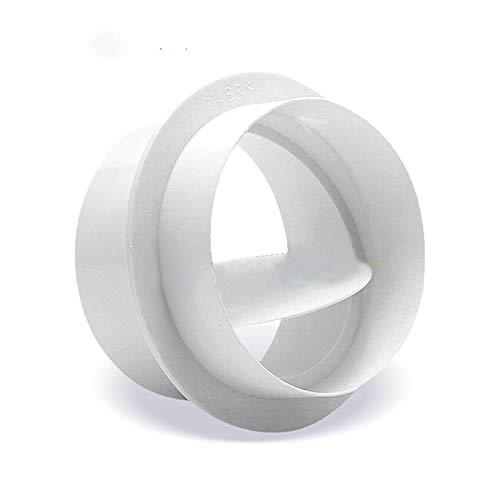LXH-SH Das elektromagnetische Ventil PVC-Rundrohr Rückschlagventil, Badezimmer Abluft Ventilator Exhaust Bad Ventil prüfen, Einweg Wert 80~200 3pcs Industriebedarf (Color : 3pcs, Size : 150)
