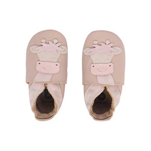 Bobux Krabbelschuhe Für Baby, Baby Schuhe, Baby Geschenk, Beige Giraffe, 22 EU