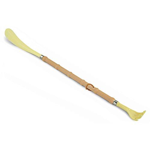 Chausse-pied et gratte-dos très pratique et très bien fait – Lot de 2 – Plastique – Longueur 52 cm